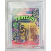 Teenage Mutant Ninja Turtles Donatello Series 1 / 10 Back AFA 75 EX+/NM Plastic Head