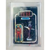Star Wars B-Wing Pilot 77 Back-A ROTJ AFA 70 Y-EX+ *12147413* C70 B85 F75