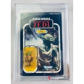 Star Wars ROTJ Yoda Brown Snake 77 Back-A AFA 60 Y-EX *14526973* C70 B60 F85
