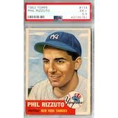 1953 Topps Baseball #114 Phil Rizzuto PSA 5.5 (EX+) *5191