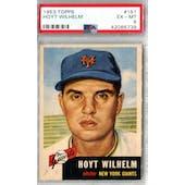 1953 Topps Baseball #151 Hoyt Wilhelm PSA 6 (EX-MT) *6739