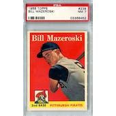 1958 Topps Baseball #238 Bill Mazeroski PSA 7 (NM) *8452