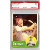 1963 Topps Baseball #25 Al Kaline PSA 7 (NM) *8672