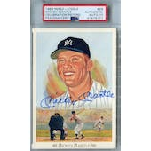 Perez Steele Celebration #28 Mickey Mantle PSA/DNA Authentic Signed Auto Grade 10 *5171
