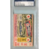1967 World Series Game 4 Ticket Stub Bob Gibson PSA/DNA Signed Auto *9414