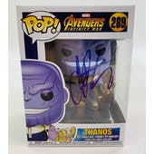 Marvel Avengers Infinity War Funko POP Autographed by Jim Starlin