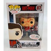Marvel Ant-Man Exclusive Funko POP Autographed by Paul Rudd