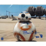 Brian Herring Autographed 8x10 Star Wars BB8 Photo (DACW COA)