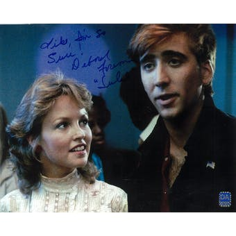 Deborah Foreman Autographed 8x10 Valley Girl Cage Photo (DACW COA)