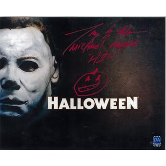 Tony Moran Autographed 8x10 Halloween Title Photo (DACW COA)