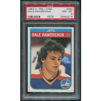 1982/83 O-Pee-Chee Hockey #380 Dale Hawerchuk Rookie PSA 8 (NM-MT)