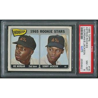 1965 Topps Baseball #16 Joe Morgan Rookie PSA 8 (NM-MT)