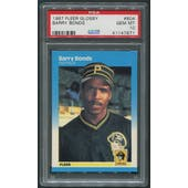 1987 Fleer Glossy Baseball #604 Barry Bonds Rookie PSA 10 (GEM MT)