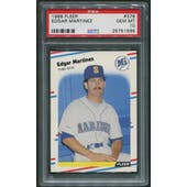 1988 Fleer Baseball #378 Edgar Martinez Rookie PSA 10 (GEM MT)