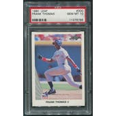 1990 Leaf Baseball #300 Frank Thomas Rookie PSA 10 (GEM MT)