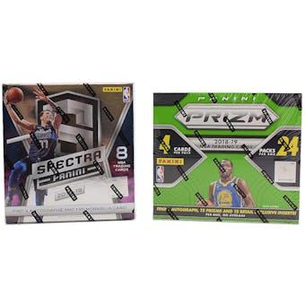 COMBO DEAL - 2018/19 Panini Basketball Hobby Box (Spectra, Prizm 24-Pack)