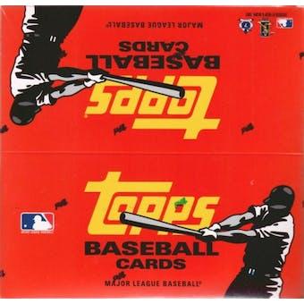 2007 Topps Series 1 Baseball 24-Pack Box - 22 cards per pack