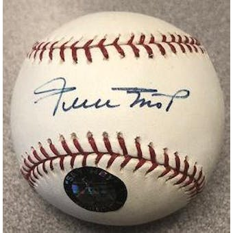 Willie Mays Autographed Signed Official Major League Baseball (PSA/DNA & Say Hey)