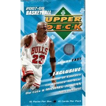 2007/08 Upper Deck Basketball East Hobby Box