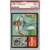 1962 Topps Football #113 Jerry Hillebrand SP PSA 7 (NM) *6298