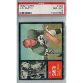 1962 Topps Football #122 J.D. Smith PSA 8 (NM-MT) *7856