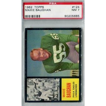 1962 Topps Football #124 Maxie Baughan PSA 7 (NM) *5665