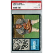 1962 Topps Football #137 Bob Ferguson SP PSA 7 (NM) *1676