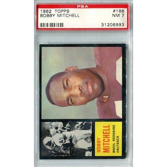 1962 Topps Football #166 Bobby Mitchell PSA 7 (NM) *6993