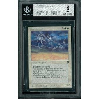 Magic the Gathering Legends Thunder Spirit BGS 8 (8.5, 8.5, 9, 7)