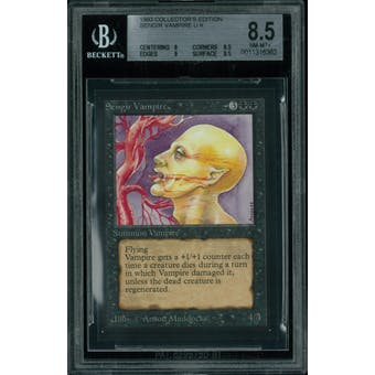 Magic the Gathering Collector's Edition CE IE Sengir Vampire BGS 8.5 (8, 8.5, 9, 8.5)