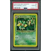 Pokemon Neo Genesis Bellossom 3/111 PSA 10 GEM MINT