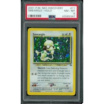 Pokemon Neo Discovery Smeargle 11/75 PSA 8