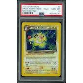 Pokemon Neo Destiny Dark Ampharos 1/105 PSA 10 GEM MINT