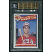 1985 Topps Baseball #401 Mark McGwire Rookie BGS 9.5 (GEM MINT)