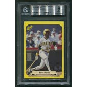 1987 Classic Update Yellow Green Backs #113 Barry Bonds Rookie BGS 9 (MINT)