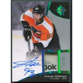2015/16 Ultimate Collection #4 Jakub Voracek Spectrum Gold Tag Auto #21/25