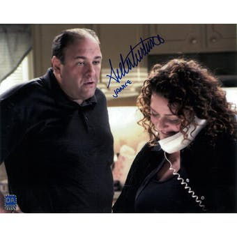 Aida Turturro Autographed 8x10 Sopranos Phone Photo (DACW COA)