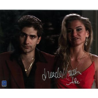 Drea de Matteo Autographed 8x10 Sopranos Red Dress Photo (DACW COA)