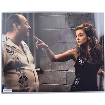 Drea de Matteo Autographed 16x20 Sopranos Photo (DACW COA)