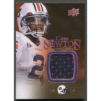2011 Upper Deck Employee Exclusive #EC1 Cam Newton Rookie Game Jersey