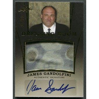 2014 Leaf #DRJG1 James Gandolfini Dressing Room Shirt Auto #05/10