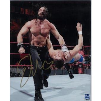 Elias WWE Jeffrey Sciullo Autographed 8x10 Line Wrestling Photo