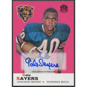 2015 Topps #T60RAGS Gale Sayers 60th Anniversary Rookie Reprint Auto