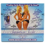 BenchWarmer Signature Series Autographed Hobby Box (2008)