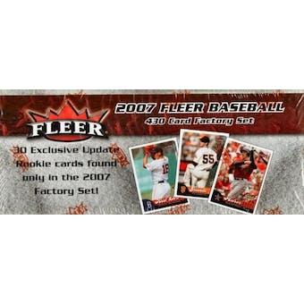 2007 Fleer Baseball Factory Set (Box)