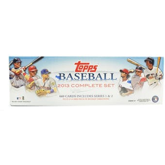 2013 Topps Factory Set Baseball Retail (Box)