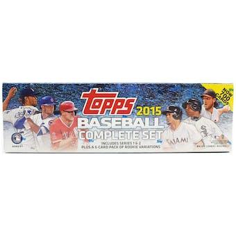 2015 Topps Factory Set Baseball Retail (Box)