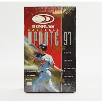 1997 Donruss Update Baseball 24-Pack Box