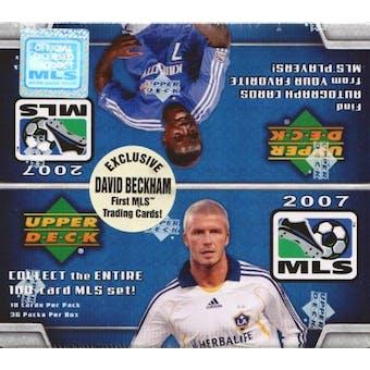 2007 Upper Deck MLS Major League Soccer Box