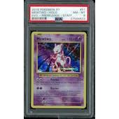 Pokemon XY Evolutions STAFF Prerelease Mewtwo 51/108 PSA 8